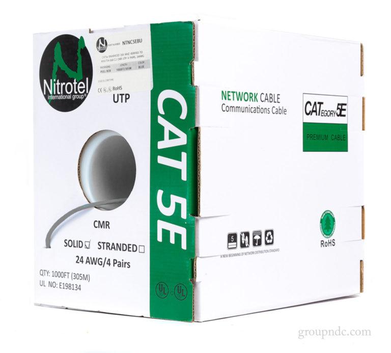 Cat 5E CMR Gray