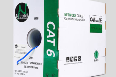 Cat 6 Cable CMR Blue